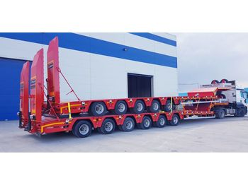 Low loader semi-trailer VEGA TRAILER 5 Axle Low-Bed (OZS-L5)