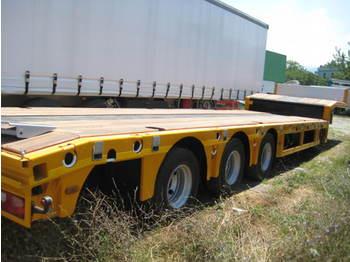 kaessbohrer semitrailer - low loader semi-trailer
