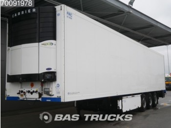 Krone Carrier Vector 1850 Liftachse Doppelstock Palettenkasten SD German Trailer - refrigerator semi-trailer