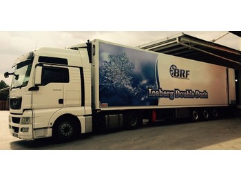 BRF DOUBLE DECK - refrigerator semi-trailer