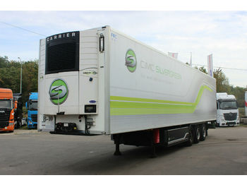 BURG SILVERGREEN SR03, CARRIER VECTOR 1550  - refrigerator semi-trailer