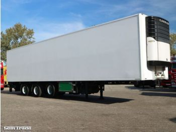 Burg 3-AS KOEL VRIES 2x STUURAS 3 TONS KLEP LIFTAS - refrigerator semi-trailer