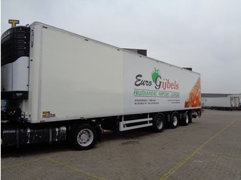 Refrigerator semi-trailer Chereau + 2 Axle steered + Carrier Maxima 1300: picture 1