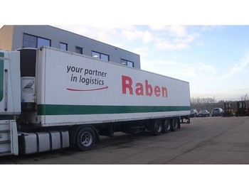 Refrigerator semi-trailer Chereau CARRIER FRIDGE / DRUM BRAKES