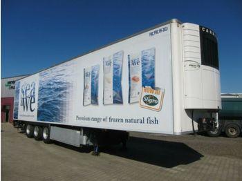 Refrigerator semi-trailer Chereau Carrier Vector 1850Mt Bi-temp LBW BPW Disc Top!
