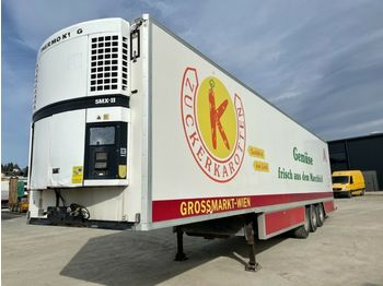 Refrigerator semi-trailer Chereau Schuh Thermo King SMX II BPW Drumbrake: picture 1