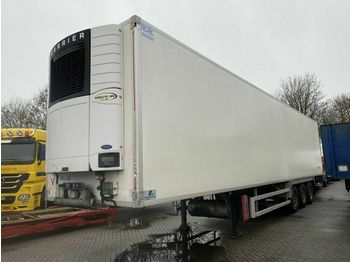 Refrigerator semi-trailer Fruehauf 3 AS - SAF - DISC BRAKES + CARRIER VECT
