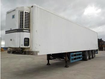 Gray & Adams Tri Axle Refrigeration Trailer, Thermo King Fridge - refrigerator semi-trailer