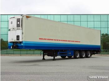 Refrigerator semi-trailer Heiwo HZO 39 THERMO KING SPECTRUM BPM AXLES 250 WIDE 270 HIGH TAIL LIFT