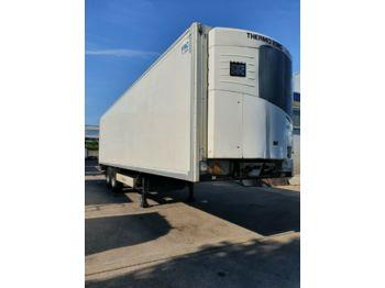 Refrigerator semi-trailer Krone 2-Achs CITYSATTEL BITEMP  2X  11m SLX  Spectrum