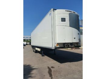 Refrigerator semi-trailer Krone 2-Achs CITYSATTEL Tiefkühl  2 St. 11 m SLX 200
