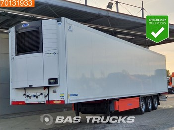 Refrigerator semi-trailer Krone Carrier Vector 1550 3 axles Doppelstock Liftachse Palettenkasten
