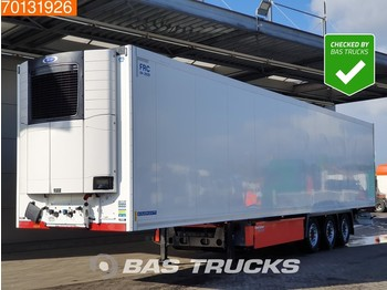 Refrigerator semi-trailer Krone Carrier Vector 1550 3 axles Doppelstock Palettenkasten Liftachse