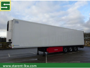Refrigerator semi-trailer Krone Carrier Vector 1550, Liftachse, SAF-Achse