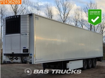 Refrigerator semi-trailer Krone Carrier Vector 1950 3 axles Doppelstock Palletenkasten Trennwand Liftachse