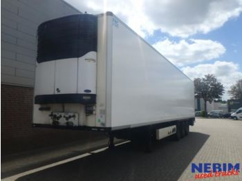 Refrigerator semi-trailer Krone SDR 27 Kuhlkoffer Carrier Maxima 1300 / Double stock
