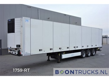 Krone SD + CARRIER VECTOR | SIDE DOORS * MULTITEMP * STEERING AXLE - refrigerator semi-trailer