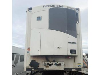 Refrigerator semi-trailer Krone TKS Thermo King max 2500 kg cool liner