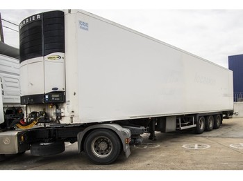 LAMBERET FRIGO MULTI TEMP + CARRIER VECTOR 1850 + D'HOLLANDIA - refrigerator semi-trailer
