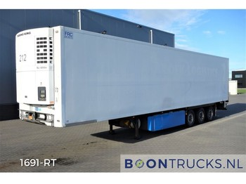 MIROFRET TRS-3 + THERMOKING SL200e | FULL CHASSIS * FLOWER WIDTH - refrigerator semi-trailer