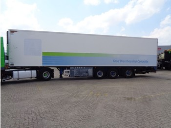 Pacton O4/DA 04 + Carrier Vector 1800 + 3 axle - refrigerator semi-trailer