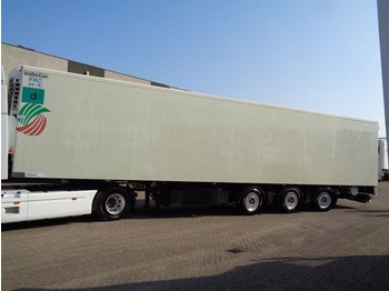 Refrigerator semi-trailer Renders 12.27 DK + 3 Axle + Thermo King SL-400e