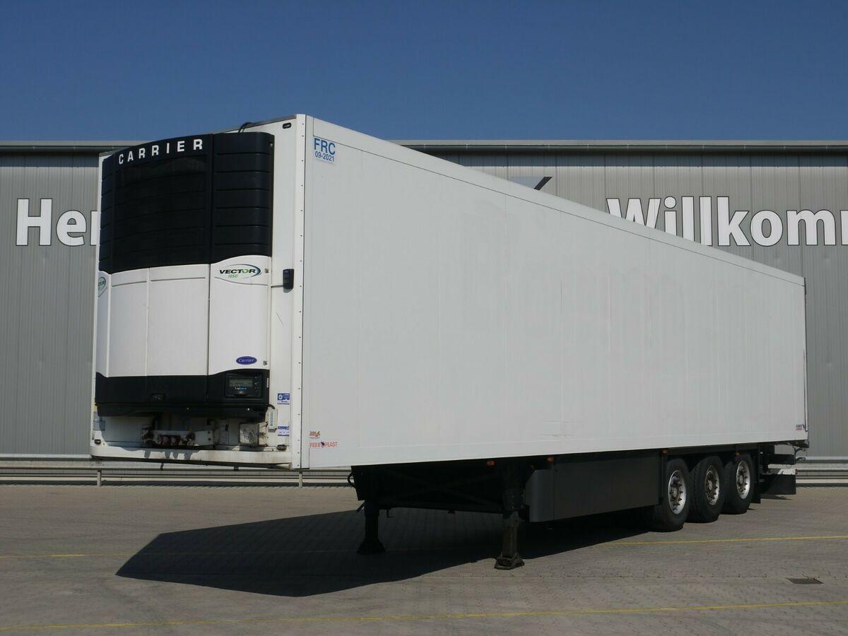 refrigerator semi-trailer Schmitz Cargobull SKO24 Kühl*Rohrbahnen*Fleisch*CarrierVector 1850