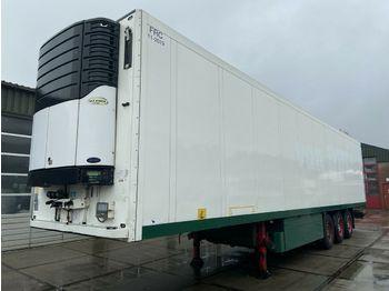Refrigerator semi-trailer Schmitz Cargobull SKO 24 Carrier Vector 1850 | 2x Lift-axle | APK