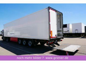 Schmitz Cargobull SKO 24/ LBW 2500 kg / BLUMEN / DS / LENKACHSE  - refrigerator semi-trailer