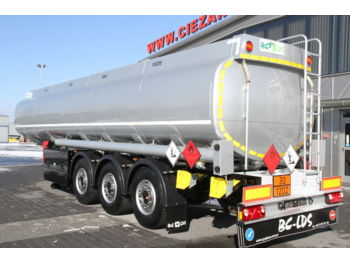 CISTERN BC-LDS NCP-33 4 COMPARTMENTS FUEL TANK - tank semi-trailer