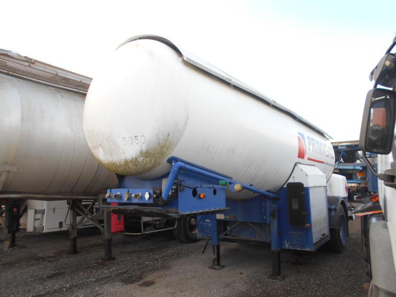 tank semi-trailer BARNEOUD GAZ