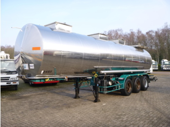 Tank semi-trailer BSLT Chemical tank inox 30 m3 / 1 comp
