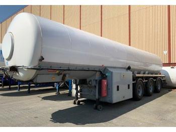 BURG CO2, Carbon dioxide, gas, uglekislota - tank semi-trailer