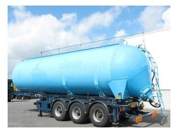 Benalu 46.000 Ltr / 1 Kippanlage - tank semi-trailer