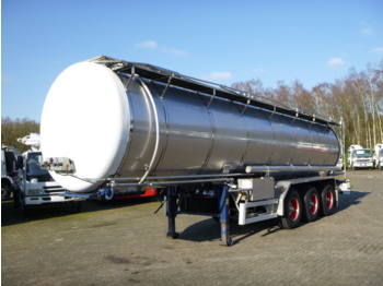 Burg Chemical tank inox 30 m3 / 1 comp - tank semi-trailer