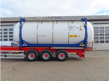 CIMC 20ft - tank semi-trailer