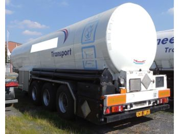 CO2, Carbon dioxide, gas, uglekislota - tank semi-trailer