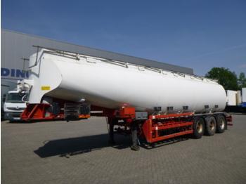 Charles Roberts Fuel tank alu 34 m3 / 6 comp + pump - tank semi-trailer