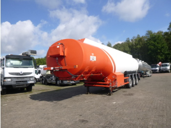 Cobo Fuel tank alu 41 m3 / 6 comp + pump/counter - tank semi-trailer