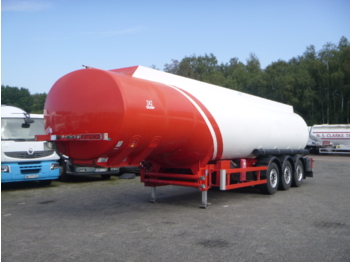 Cobo Fuel tank alu 42.4 m3 / 6 comp + counter - tank semi-trailer