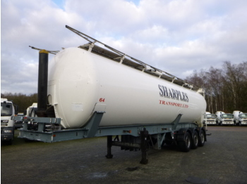 Cobo Powder tank alu 58 m3 (tipping) - tank semi-trailer
