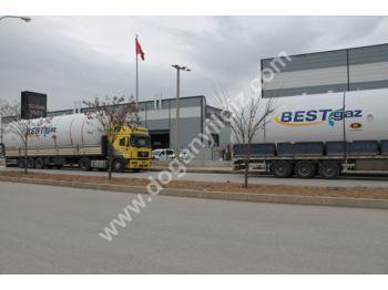DOĞAN YILDIZ 115 M3 LPG STORAGE TANK EN 13445 - tank semi-trailer
