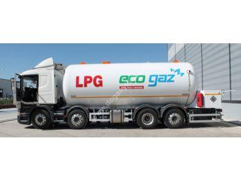 DOĞAN YILDIZ 32 m3 BOBTAIL LPG TANK - tank semi-trailer