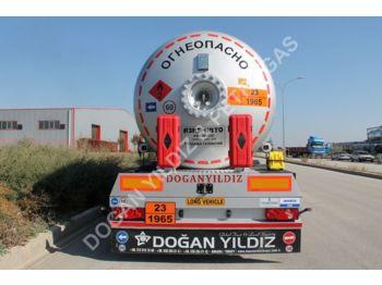 DOĞAN YILDIZ 40 M3 SEMI TRAILER LPG TANK - tank semi-trailer