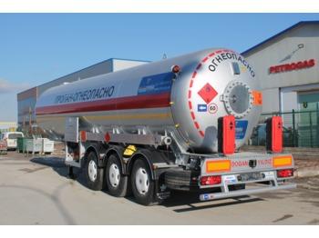 DOĞAN YILDIZ 40 M3 SEMI TRAILER LPG TANK WITH ELECTRICAL PUMP - tank semi-trailer