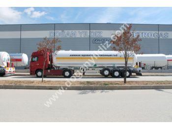DOĞAN YILDIZ 40 m3 AMMONIUM TANK TRAILER - tank semi-trailer