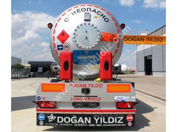 DOĞAN YILDIZ 40 m3 LPG Tank Trailer with Electrical Pump - tank semi-trailer