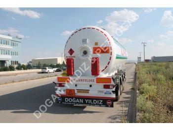 DOĞAN YILDIZ 45 M3 SEMI TRAILER LPG TANK FOR KENYA - tank semi-trailer