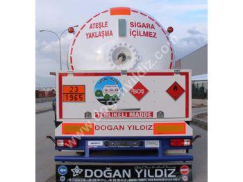 DOĞAN YILDIZ 45 m3 LPG TANK TRAILER with FULL SYSTEM - tank semi-trailer