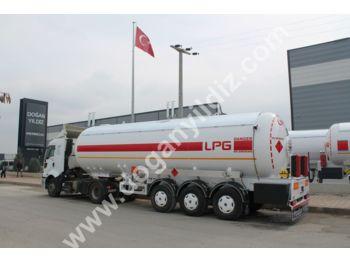 DOĞAN YILDIZ 45 m3 LPG TANK TRAILER with IRAQ STANDARDS - tank semi-trailer